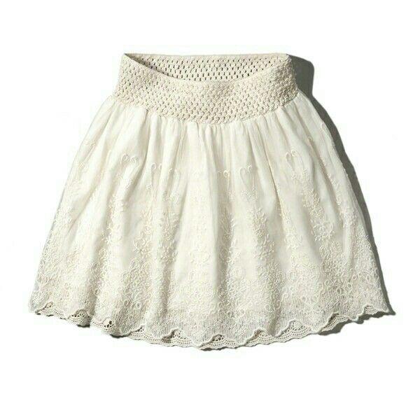 c324b12ae Cream Lace Skirt, White Lace Skirt, White Skirts, White Skater Skirt, Flare
