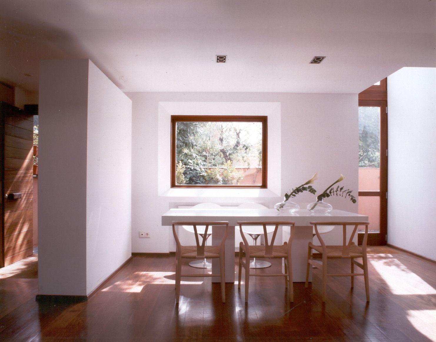 MINIMAL SPACES. SMALL HOUSES. INTERIOR DESIGN. MAJADAHONDA POZUELO BOADILLA CASAS.