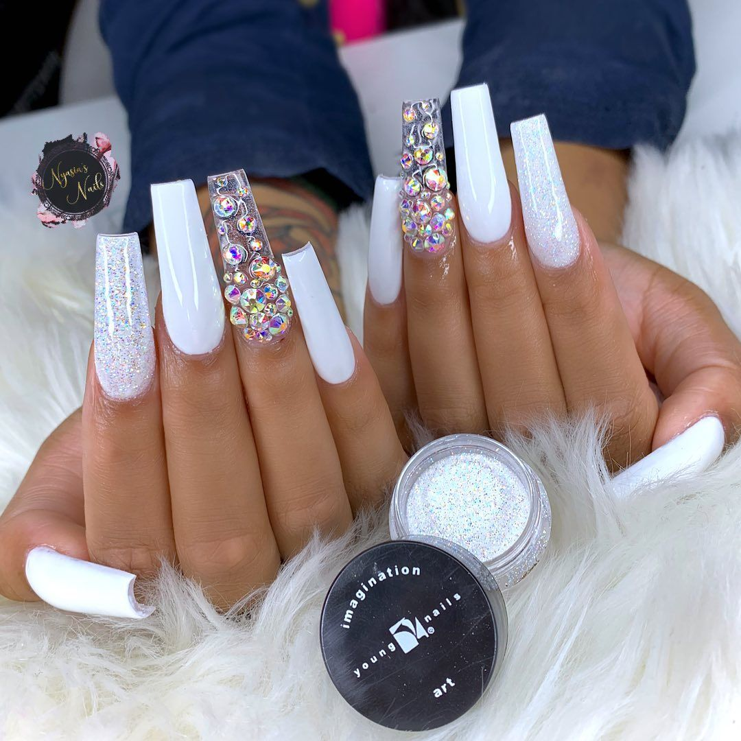 Nyasia Ruiz On Instagram Acrylicnails Coffinnails Nailfie Ombrenails Halloweennails Sallybeauty Unasacrilicas Vday Nails Nails Encapsulated Nails