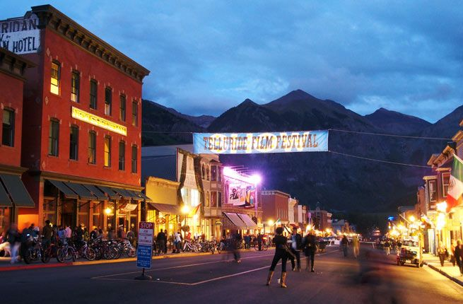 America S 15 Best Small Town Festivals Telluride Film Festival Small Towns Summer Getaways