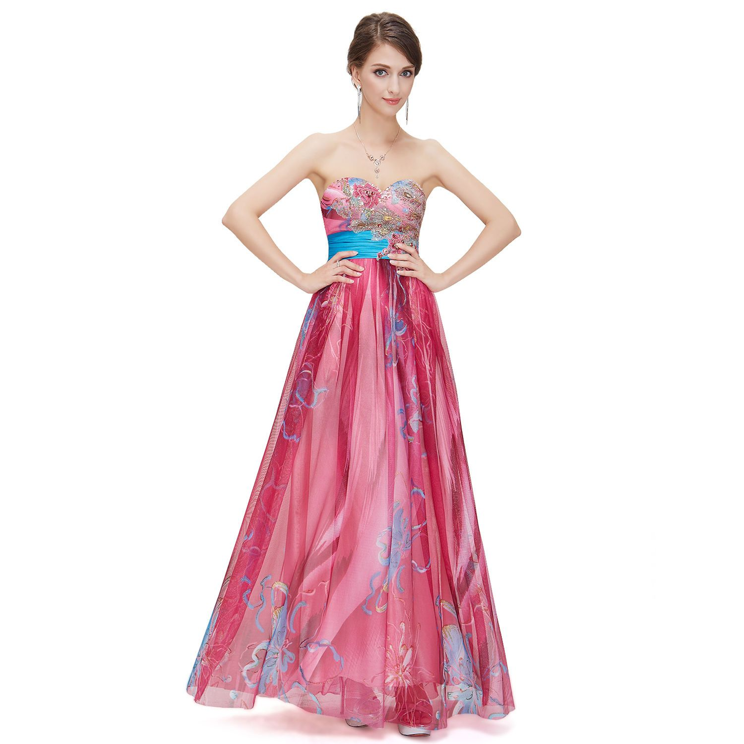 Awesome elegant homecoming prom ball dresses long evening party gown