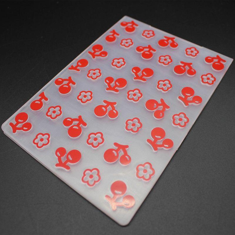 Emboss Folder Sweet Cherries