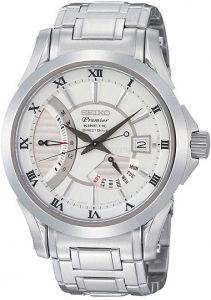 SRH007P1 SEIKO Premier Kinetic Direct Drive Men Watch