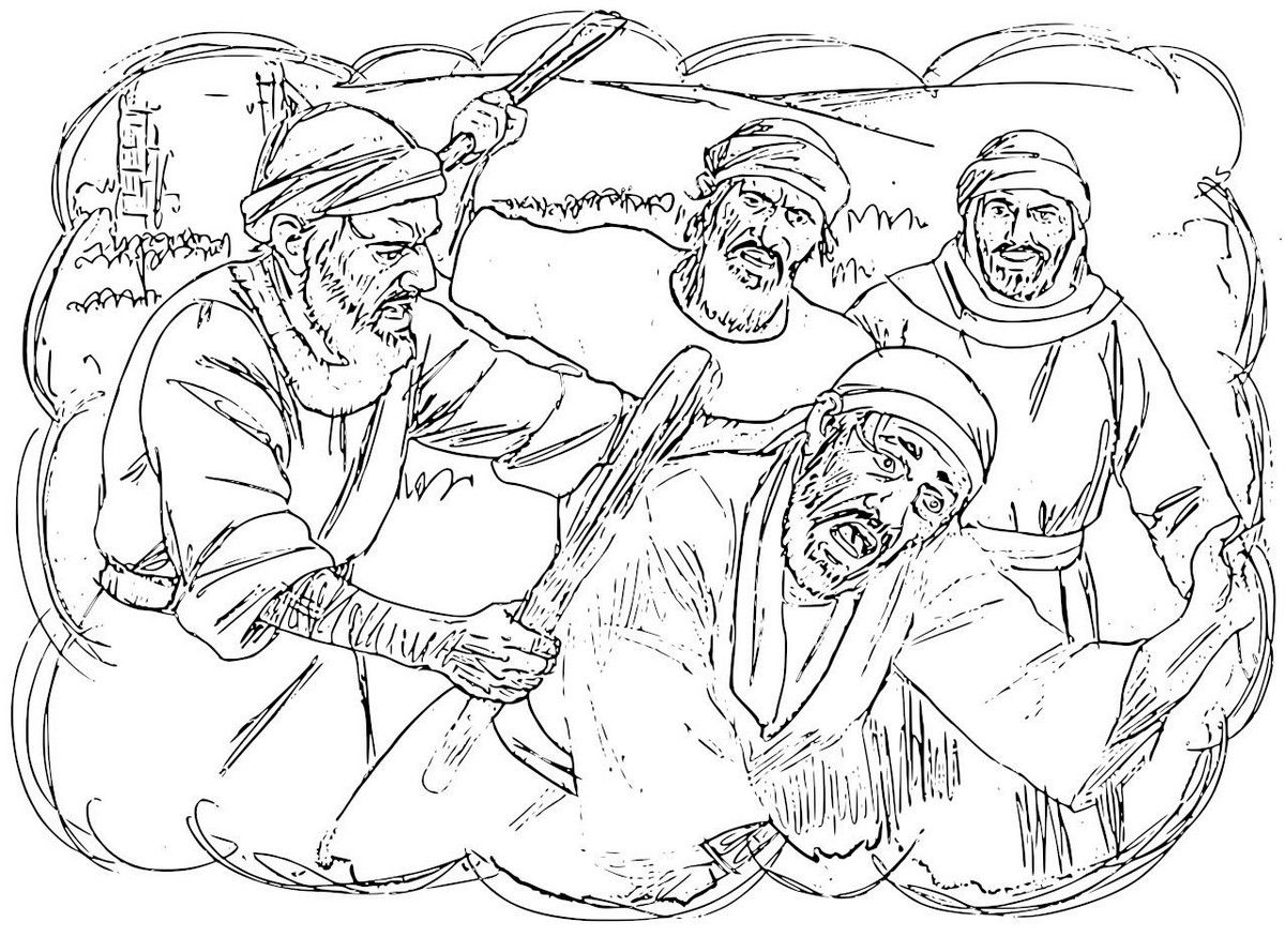 the parable of the 2 houses u2013 coloring pages bible jesus and