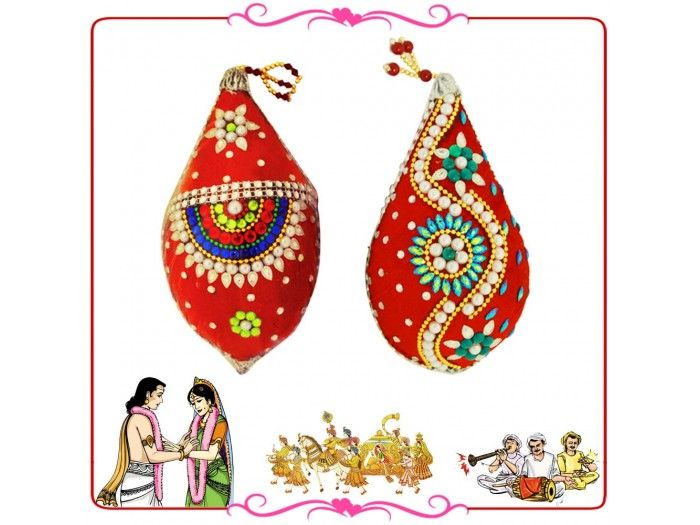 Nariyal decoration for wedding online from vedicvaani designer nariyal decoration for wedding online from vedicvaani designer nariyal decoration online for puja junglespirit Images