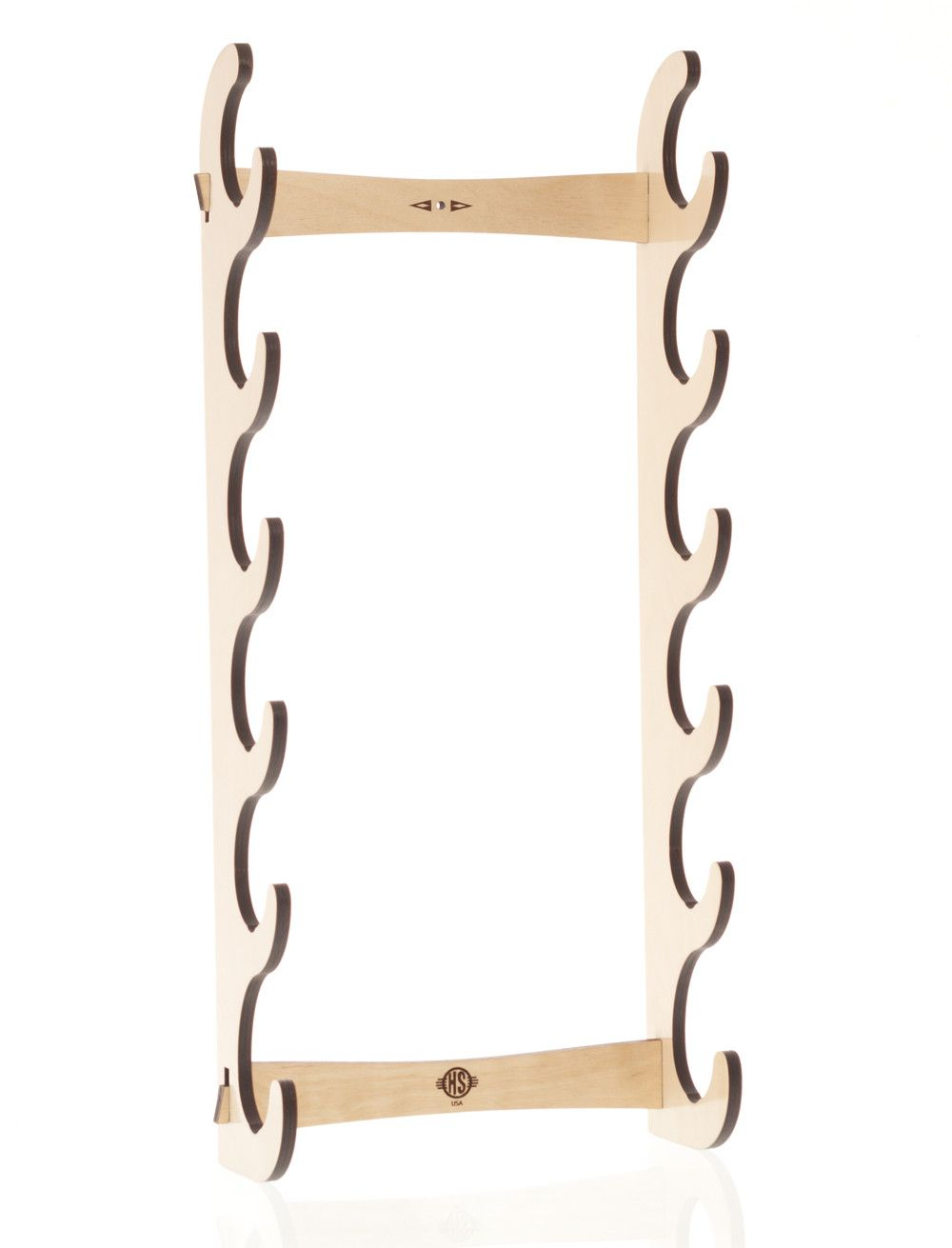 Native Flute Instrument Wall Rack Stand Display Celtic Flute Low Irish Whistle