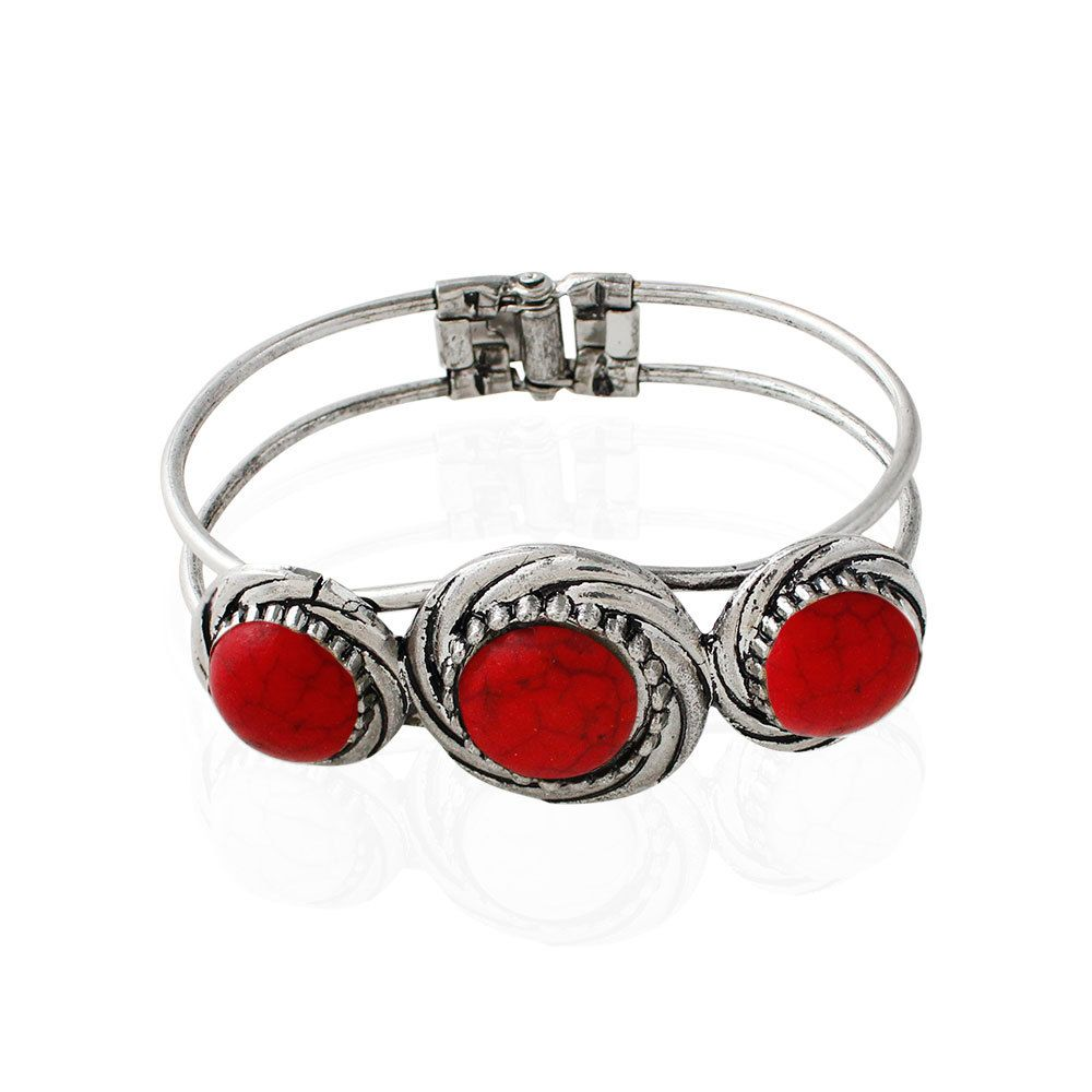 Spinner fashion vintage bracelets double layer bohemian luxury style