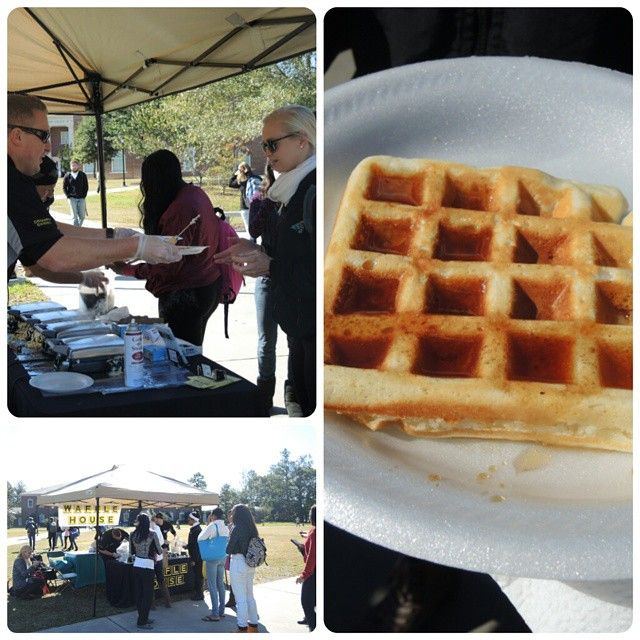 On November 3 The Ccu Student Alumni Ambassadors Held A Waffle House Fundraiser On Prince Lawn Wher Coastal Carolina University Coastal Carolina Waffle House