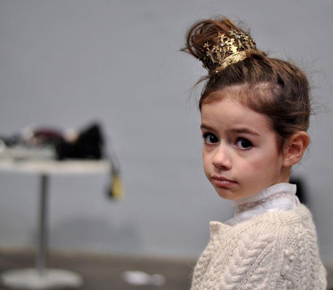 Little Fashion Week {backstage}