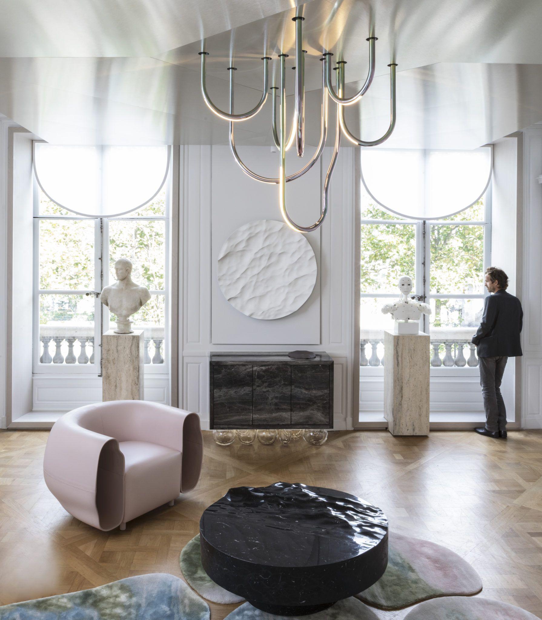 Paris Design Week Partie 1 Ad Interieurs 2017 Huskdesignblog Decoration Salon Moderne Salons Francais Mathieu Lehanneur