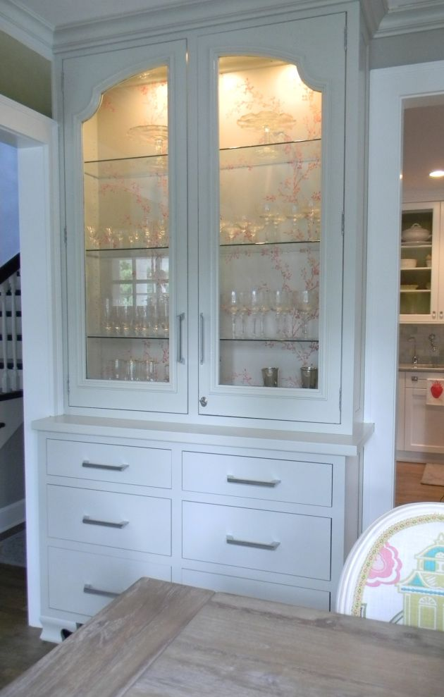 Built In China Cabinet Diy Built In China Cabinets Plans