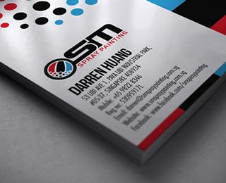 Osm spray painting business card by lemongraphic via creattica business card templates designs from graphicriver colourmoves
