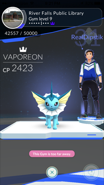 King of the 9th-level Library gym, 10-17-16. I see this player a lot.