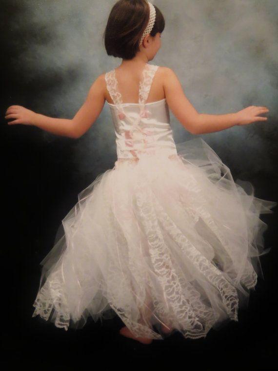 Tulle Flower Girl Dress $140.00