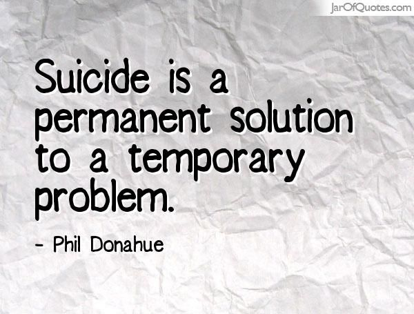 Not Just Another Suicide
