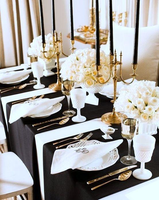 Elegant table setting | Lets Set The Table! | Pinterest | Elegant ...
