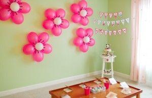 flor de balões