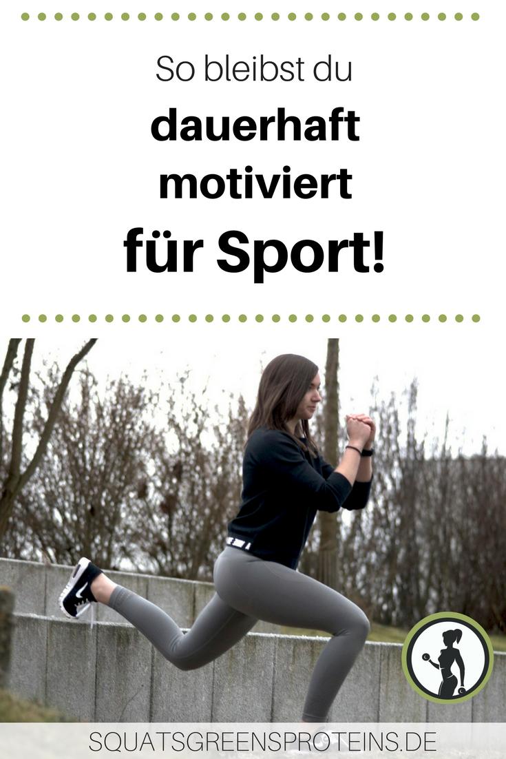 3 Tipps für dauerhafte Motivation für Sport - How to stay on track ...
