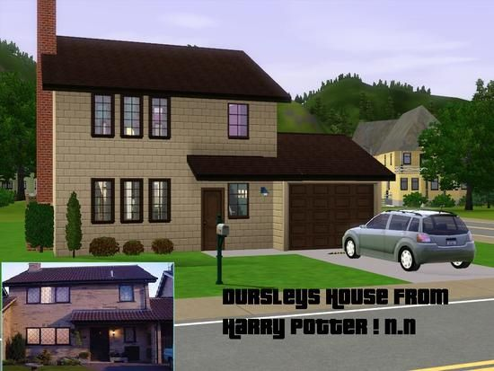 Harry Potter Dursleys House Front View House House Front House Styles