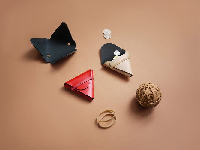 'NOTHING FANCY' WALLETS FROM DESIGNER CHIEH TING HUANG