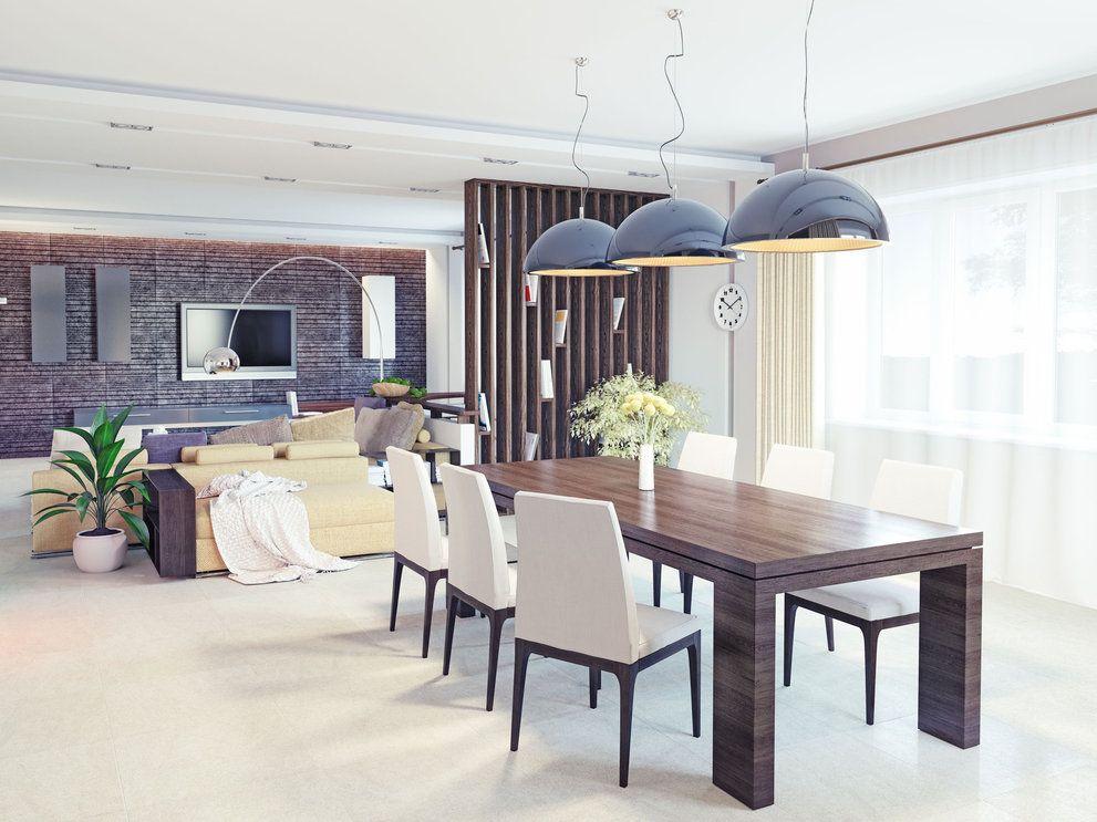 Iluminaci n moderna comedor dining room pinterest - Iluminacion comedor ...