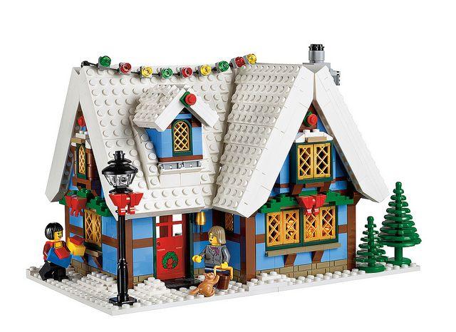 10229 Winter Village Cottage 4 Lego Christmas Lego Christmas Village Lego Gingerbread House