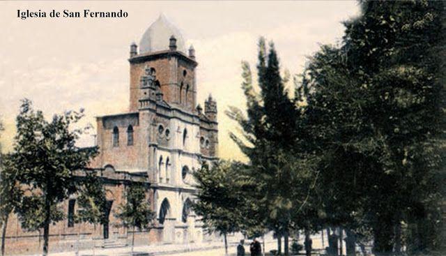 Imágenes de Chile del 1900: Iglesia San Francisco de San Fernando.