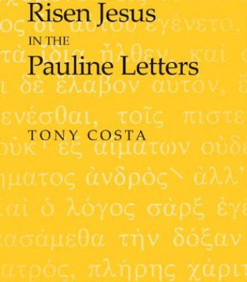 Worship And The Risen Jesus In The Pauline Letters PDF Religion - letters in pdf