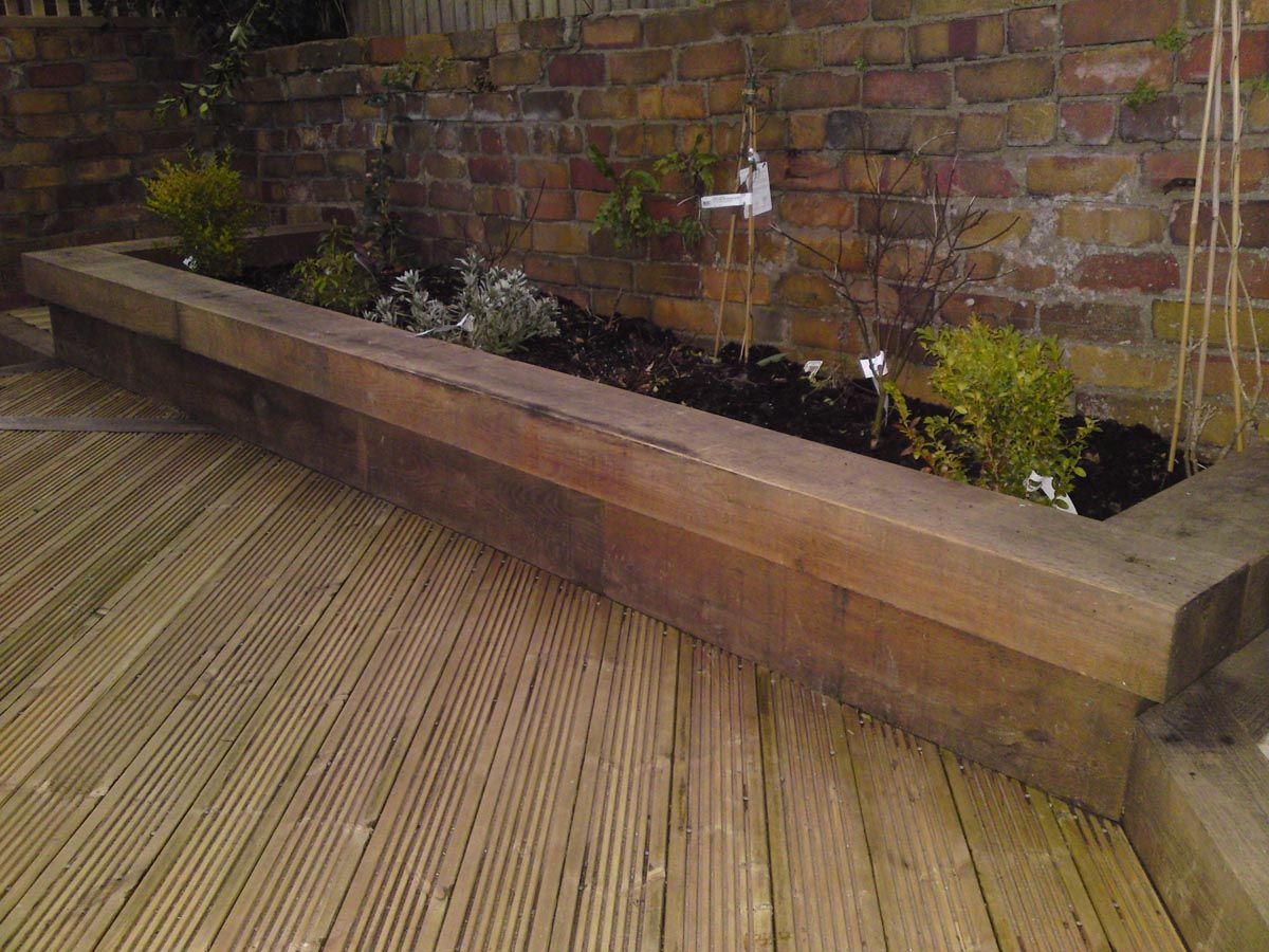 Examples Of Decking And Woodworking From Landpoint Gardens : Garden Design  And Construction   Serving The Bristol And South West England Area