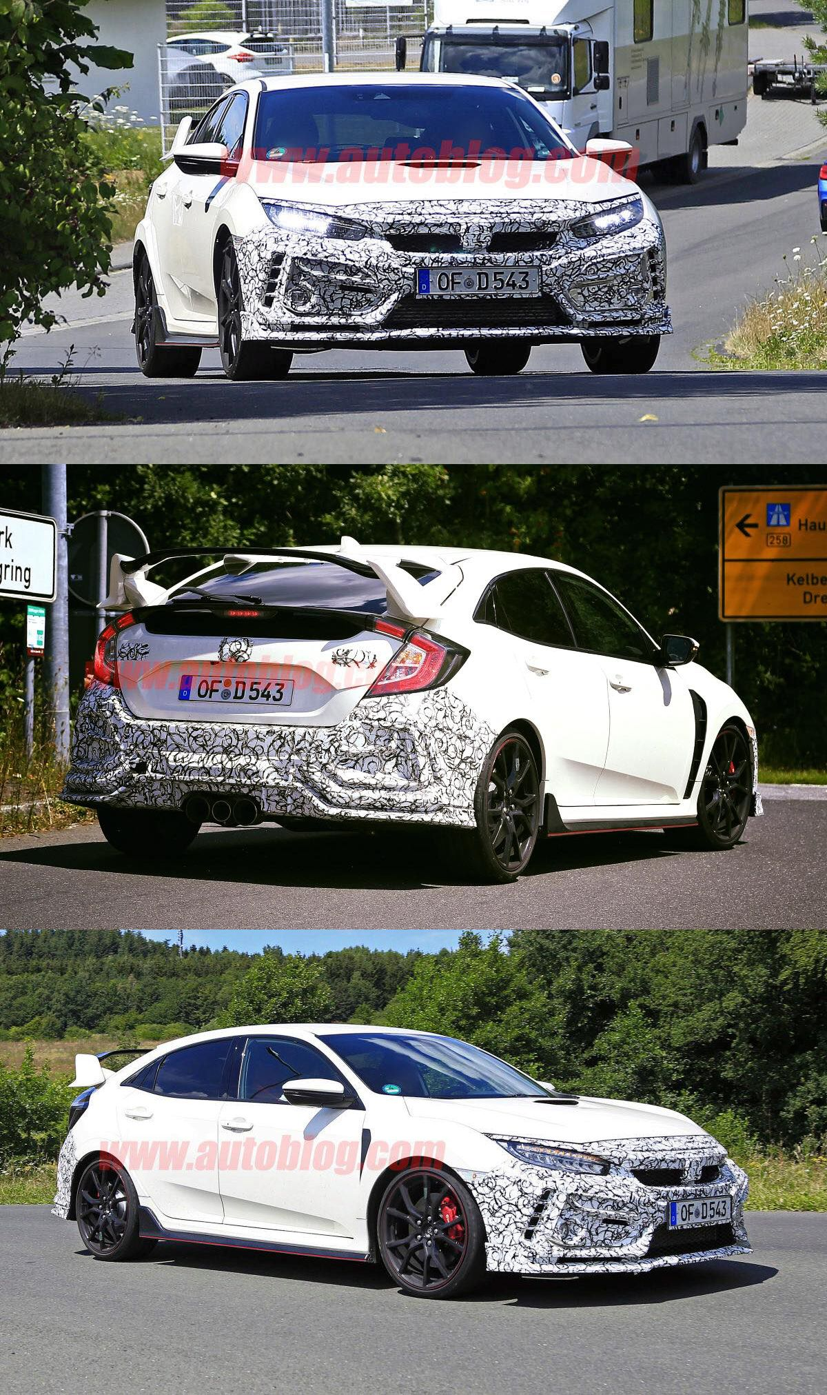 Here Are Some Spy Shots Of The 2019 Honda Civic Typer R Looks Like We Are Gonna See Updated Front And Rear B Honda Civic For Sale New Honda Honda Civic Type