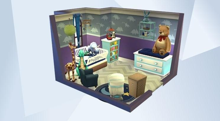 Check Out This Room In The Sims 4 Gallery Sims Baby Sims 4 Sims