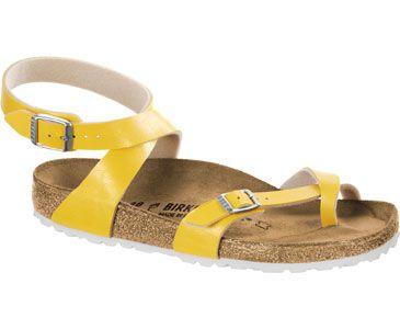 c7642ff6164 Yara BF W Birkenstock Sandalen amber yellow 35 (schmal) yara bf w  birkenstock sandalen