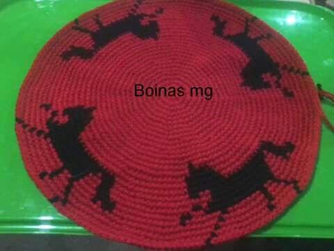 Pin von Claude montegrande auf boinas gauchas crochet | Pinterest