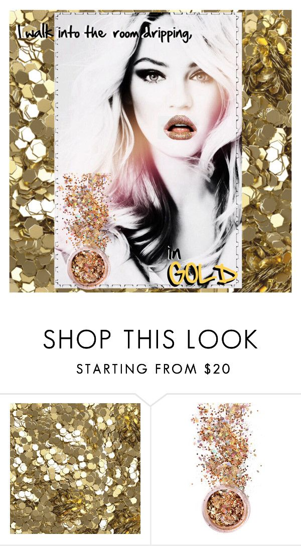 """""""In Gold"""" by daniellemtartaglione ❤ liked on Polyvore featuring beauty, Burberry and In Your Dreams"""