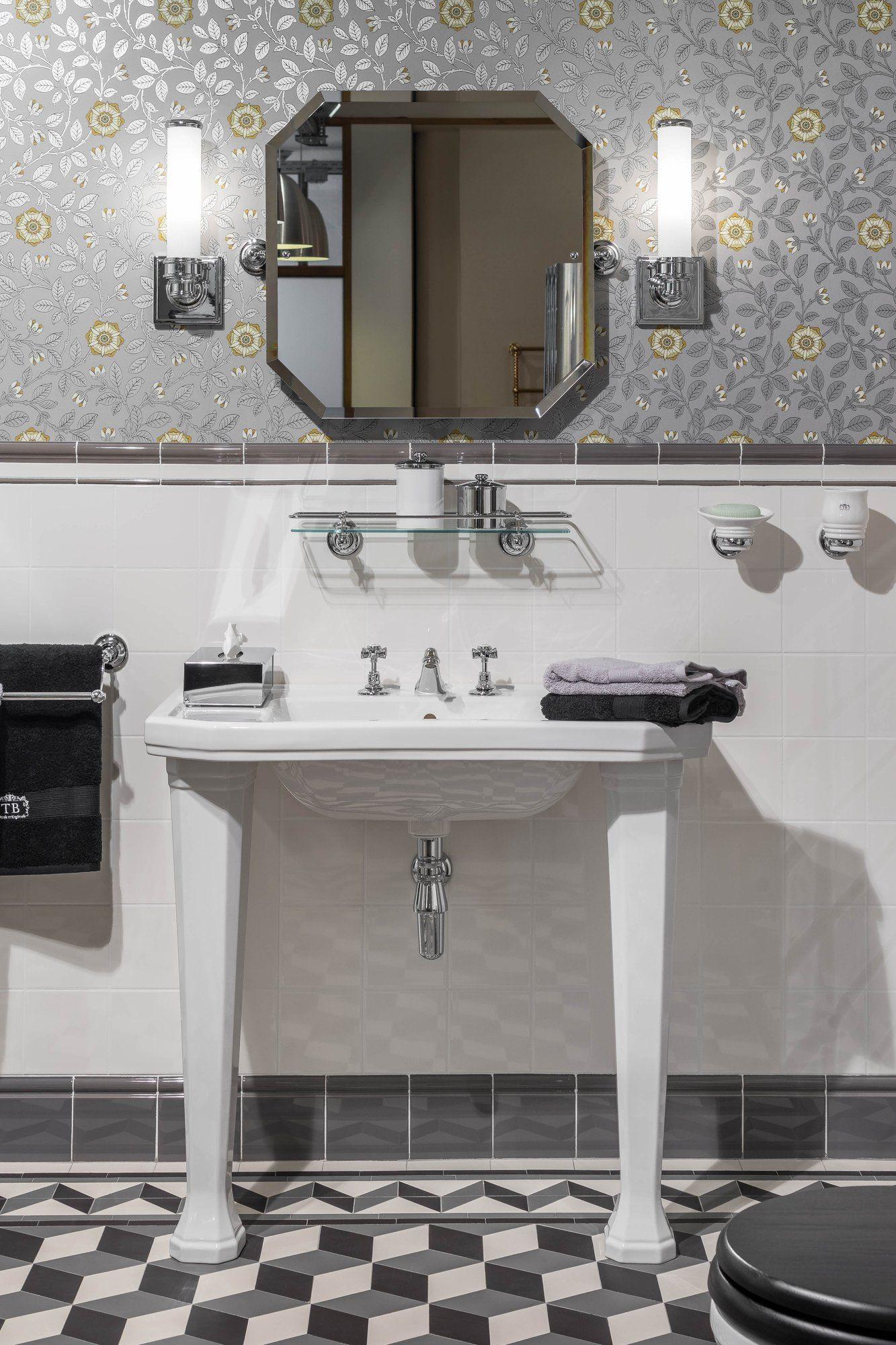 Art Deco Waschtisch Traditionelle Bader Badezimmereinrichtung Bad Einrichten