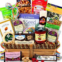 Gluten free gift basket gift baskets pinterest gluten free our gluten free gift baskets are full of gourmet snacks and delicious gluten free cookies ready to enjoy surprise someone with our gluten free gifts today negle Image collections