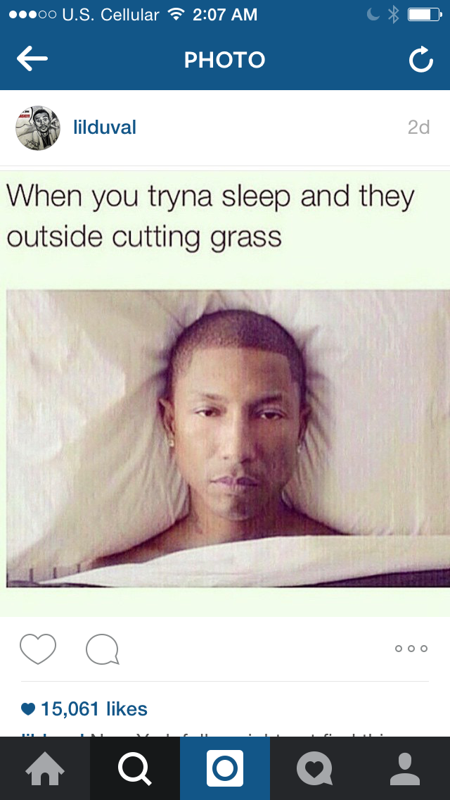 Ughh yess with that damn leaf blower