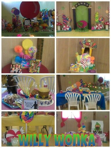 Willy Wonka Baby Shower Decor With Images Baby Shower Fun