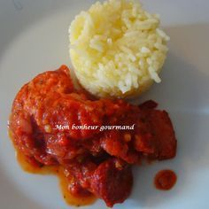 Rougail de saucisses sans piment