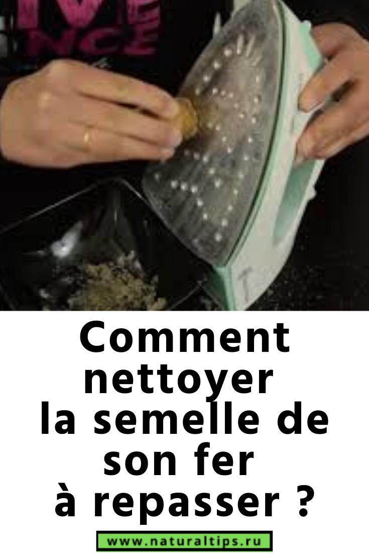 Nettoyer Semelle De Fer comment nettoyer la semelle de son fer à repasser ? en 2020
