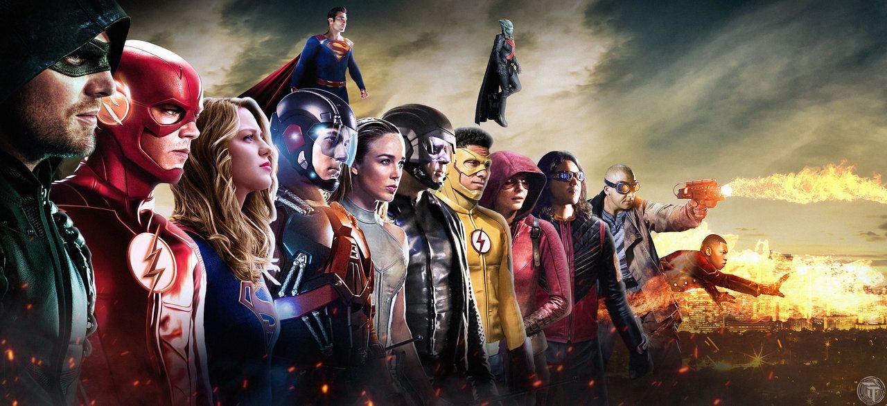 DCTV Banner/Wallpaper superheroes arrow TheFlash
