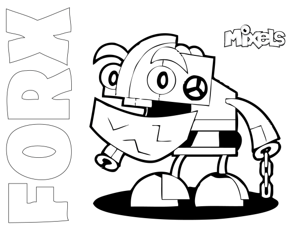 Mixel Coloring Page My Little Corner Coloring Pages Lego Coloring Pages Cute Coloring Pages