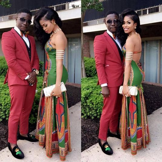 13b40e4998 Slayed – 30 Times African Print Prom Dresses Stole The Scene ...