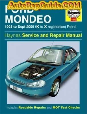 Download Free Ford Mondeo 1993 09 2000 Repair Manual Image By Autorepguide Com Ford Mondeo Repair Manuals Petrol