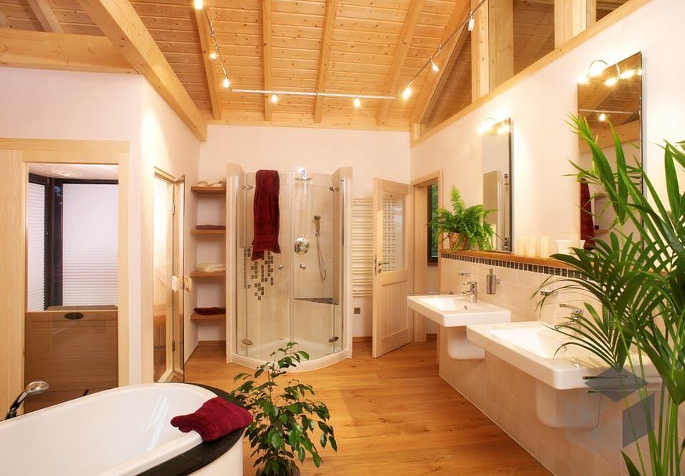 wohnideen minimalistischem bambus, bambus von stommel haus | blockhaus | satteldach einrichtung, Design ideen