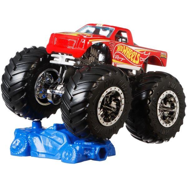 Hot Wheels Monster Trucks 1 64 Scale Diecast Toy Cars Smyths Toys Uk Monster Trucks Hot Wheels Cars Hot Wheels