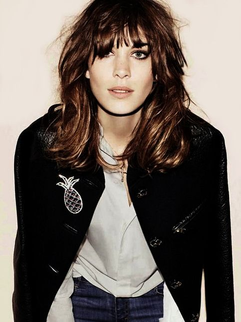 Rock N Roll Girl Hairstyles : Medium length hair fringe bangs rock n roll 80s