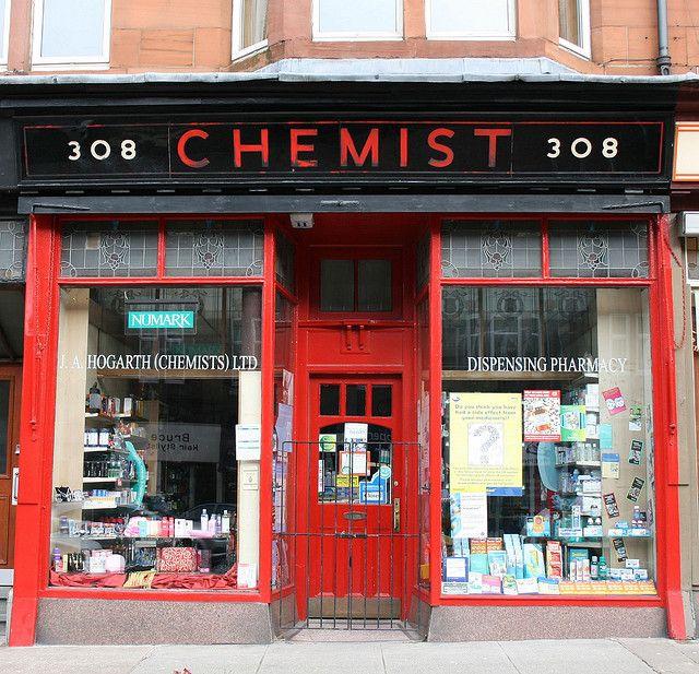Chemist, Crow Rd. Glasgow