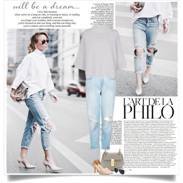 Happily Grey: Pared Down by nora-nazeer on Polyvore featuring French Connection, Topshop, Vince and Burberry