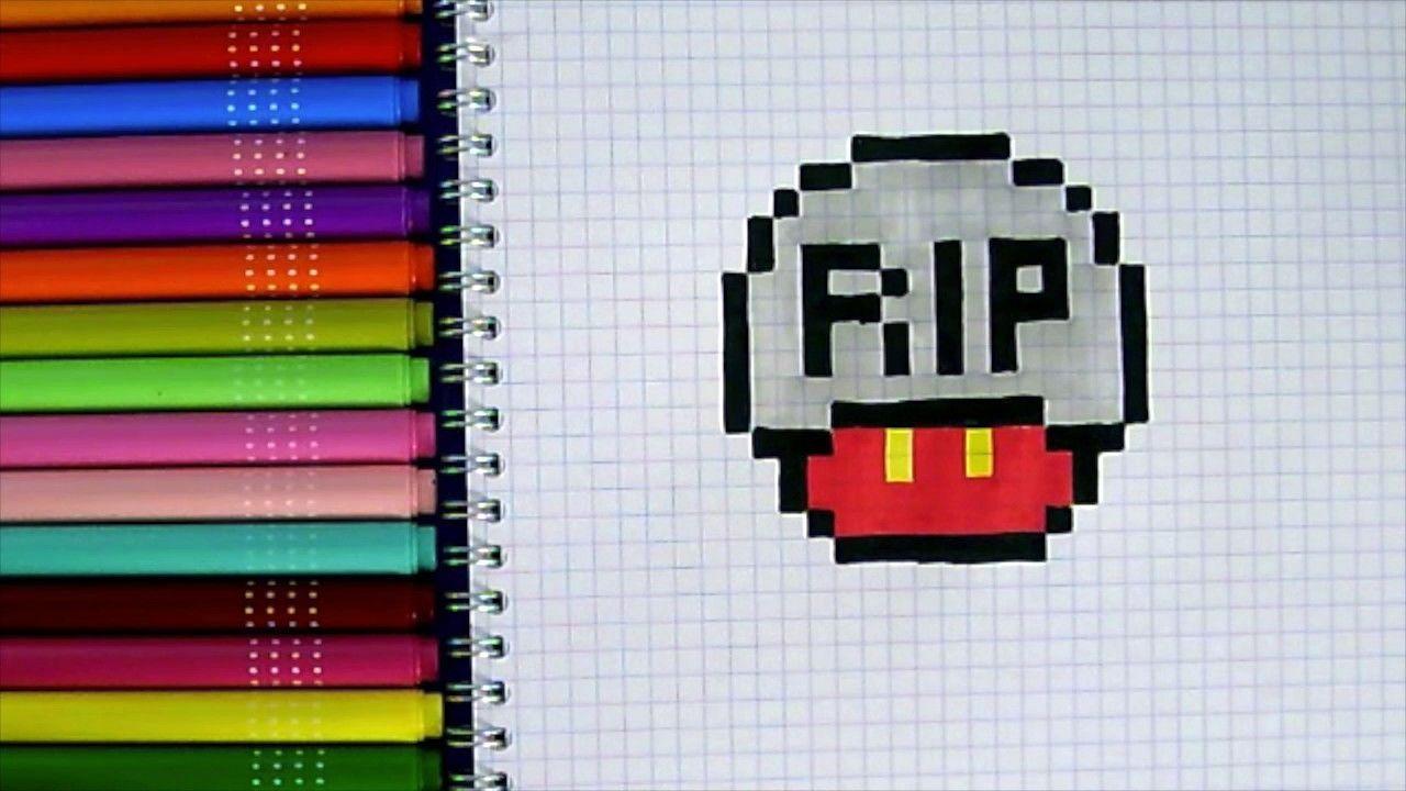 Résultat De Recherche Dimages Pour Pixel Art Champignon